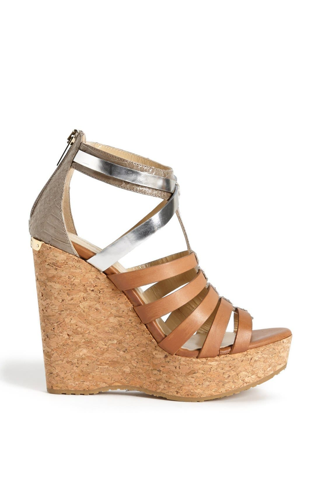 Alternate Image 4  - Jimmy Choo 'Pierce' Wedge Sandal