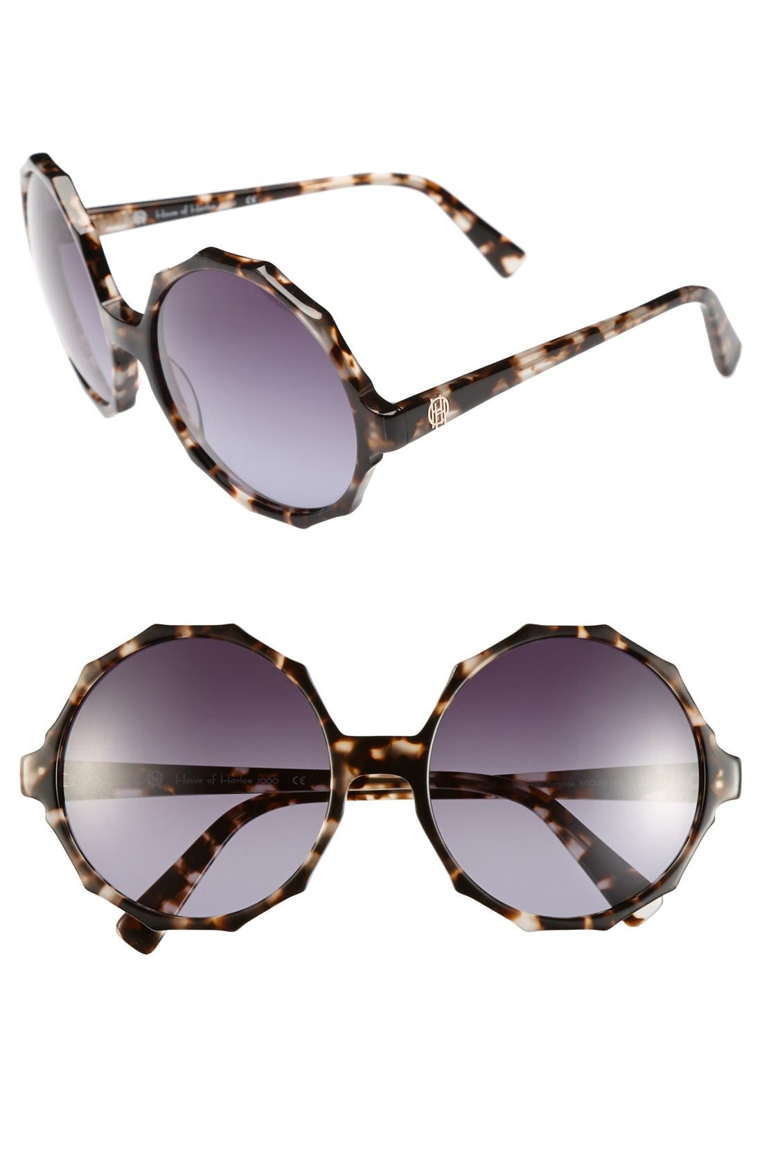 Alternate Image 1 Selected - House of Harlow 1960 'Penny' 60mm Sunglasses