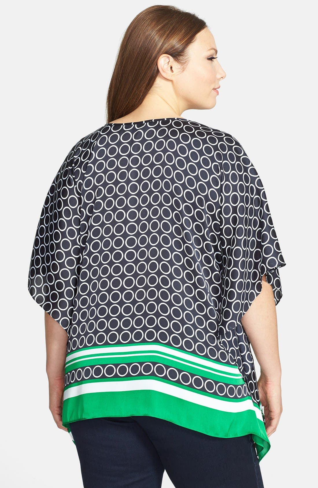 Alternate Image 2  - MICHAEL Michael Kors Embellished Flutter Top (Plus Size)
