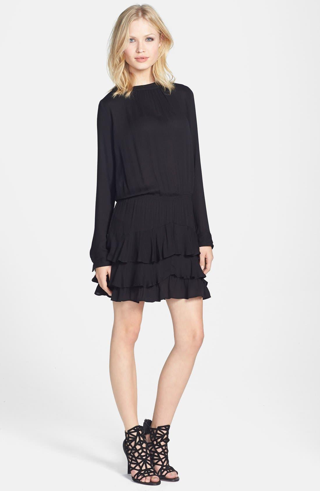 Alternate Image 1 Selected - Ella Moss 'Stella' Ruffle Hem Dress