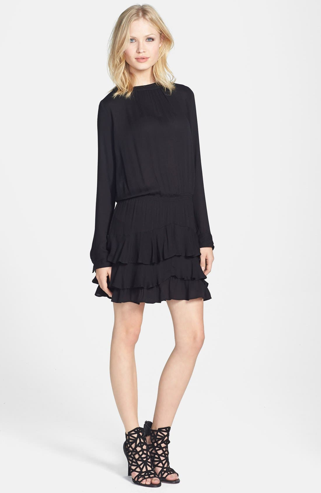 Main Image - Ella Moss 'Stella' Ruffle Hem Dress