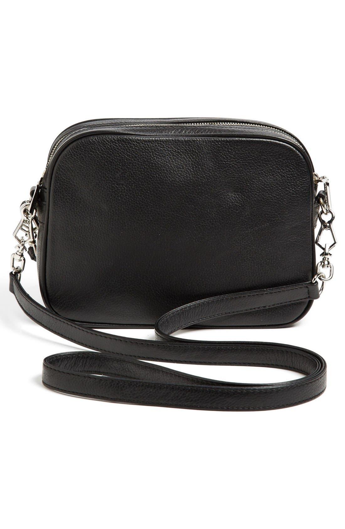 Alternate Image 4  - Rebecca Minkoff 'Rumor' Leather Crossbody Bag, Small