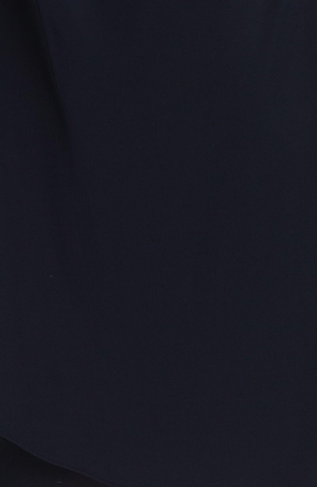 Alternate Image 3  - JS Boutique Embellished One-Shoulder Mesh Dress