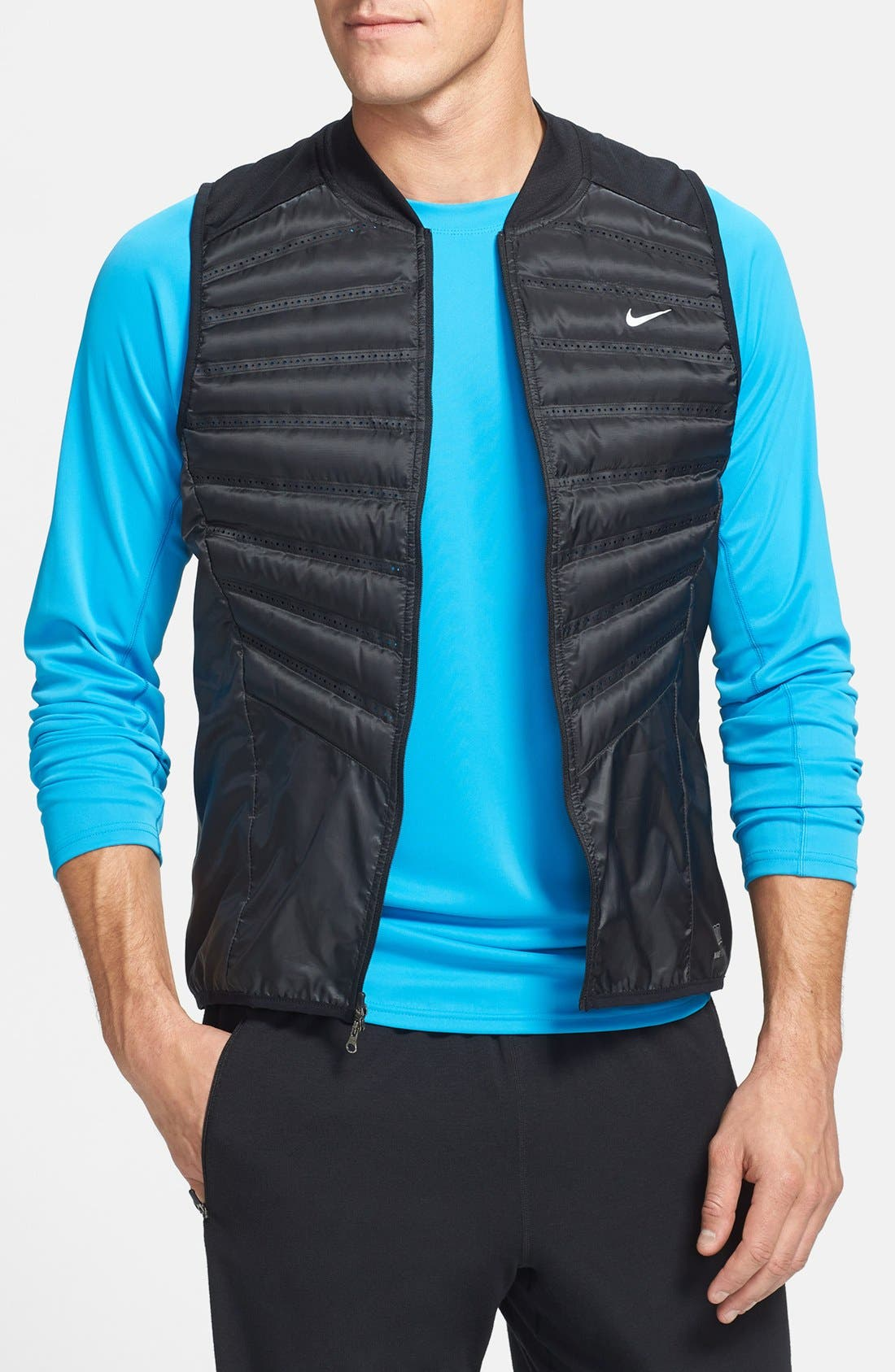 Alternate Image 1 Selected - Nike 'Aeroloft' Insulated Running Vest
