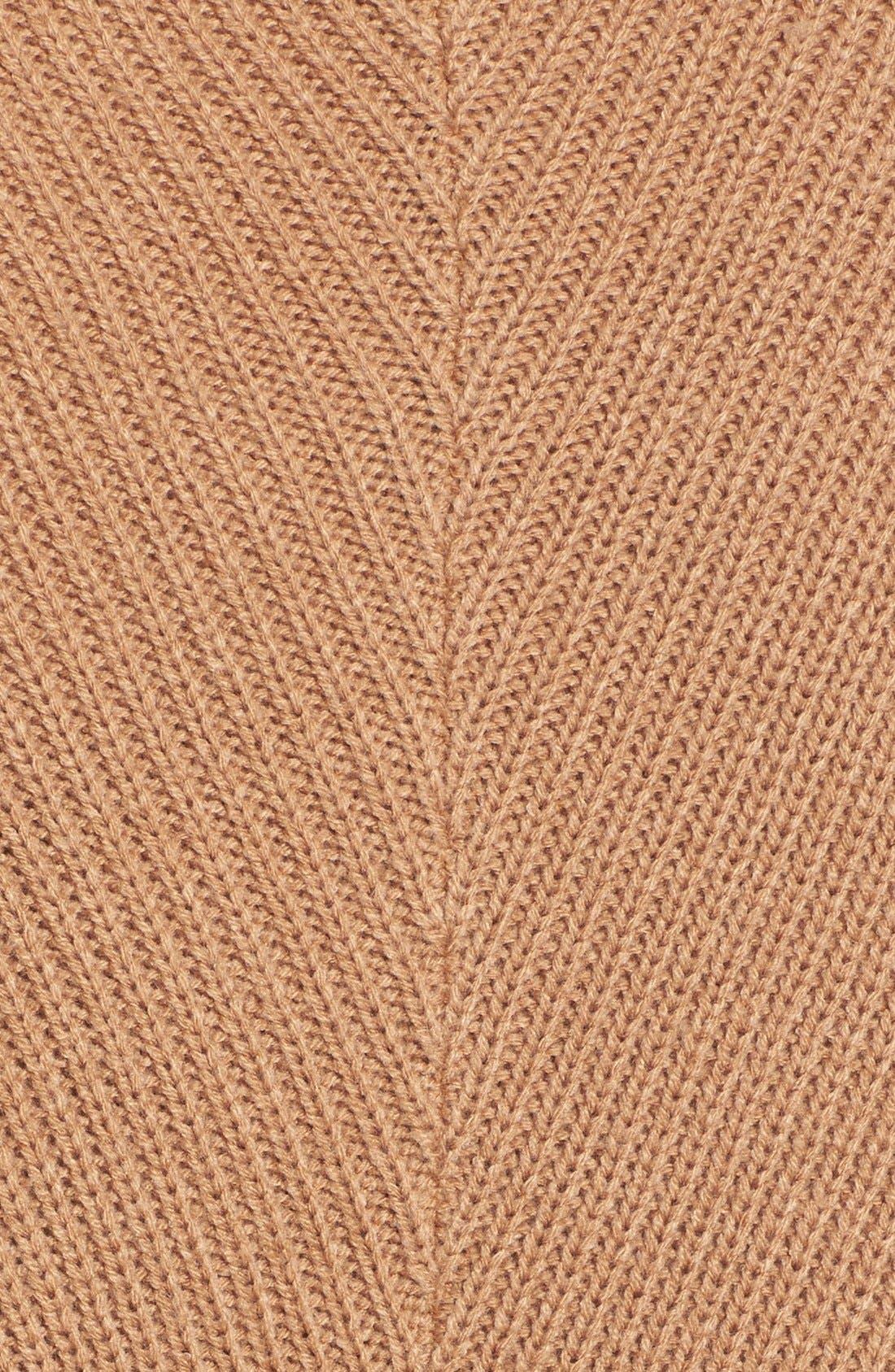 Alternate Image 3  - Halogen® Slouchy Ribbed Tunic