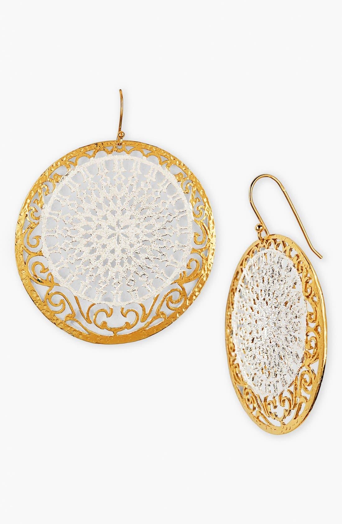 Main Image - Argento Vivo 'Glitter' Small Drop Earrings