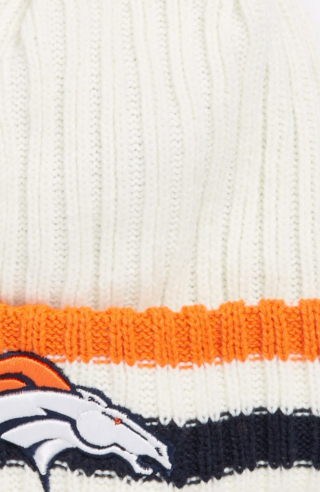 Alternate Image 2  - New Era Cap 'Yesteryear - Denver Broncos' Knit Cap