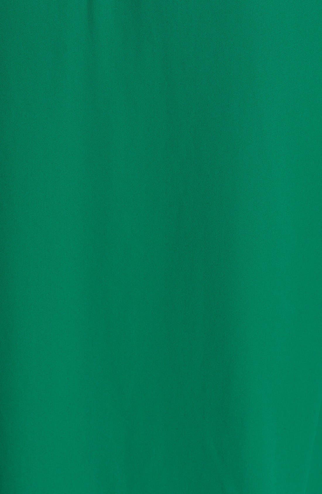 Alternate Image 3  - Ro & De Studded Chiffon Blouson Top