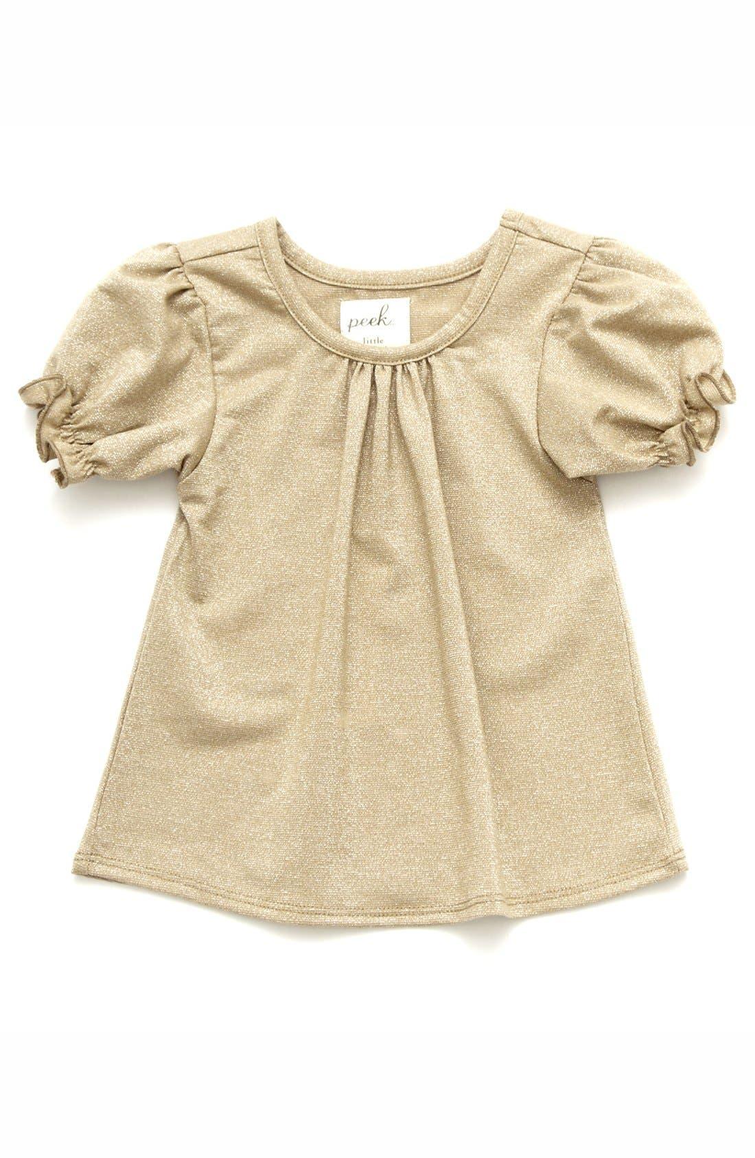 Alternate Image 1 Selected - Peek 'New Royal' Tee (Baby Girls)