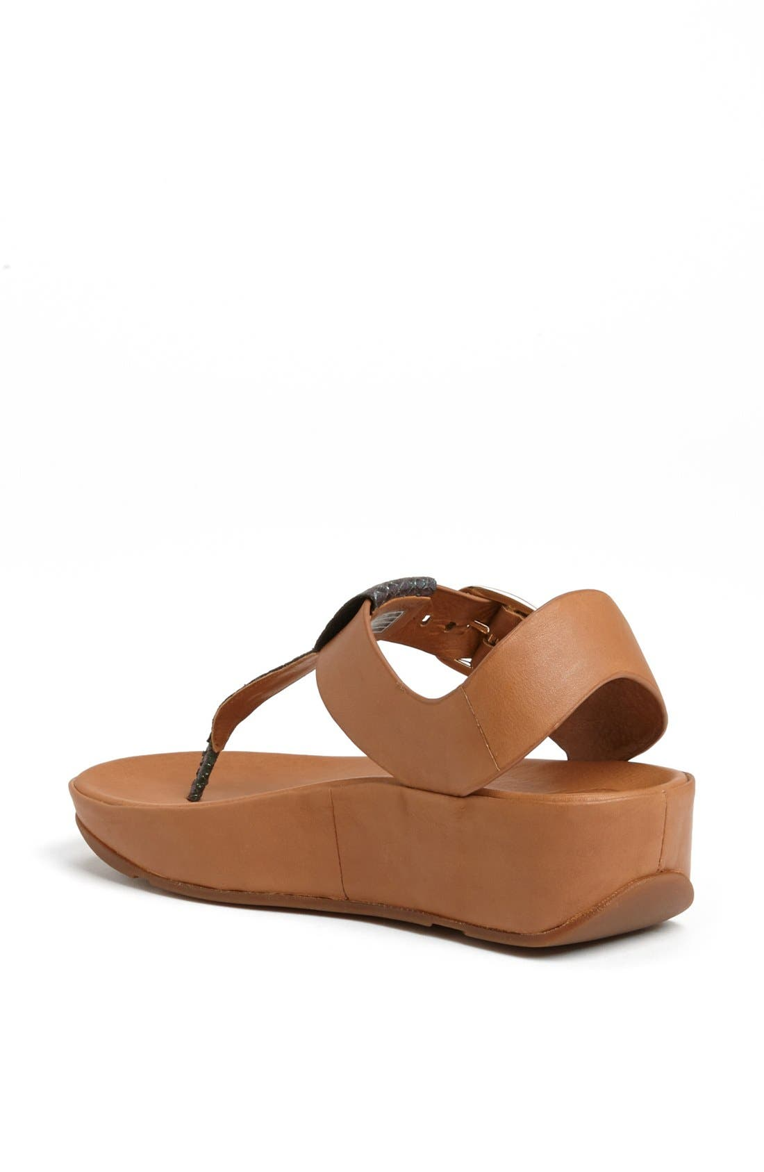 Alternate Image 2  - FitFlop 'Tia™' Leather Sandal