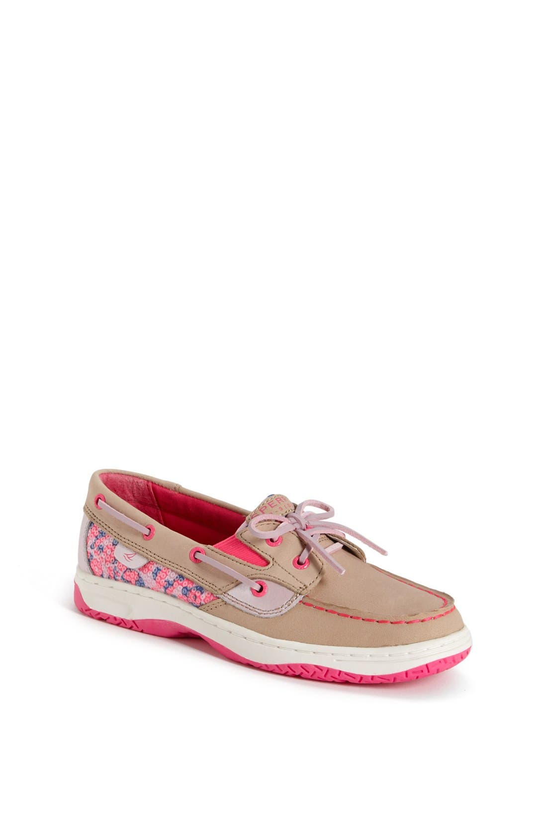 Alternate Image 1 Selected - Sperry Top-Sider® 'Butterflyfish' Boat Shoe (Walker, Toddler, Little Kid & Big Kid)