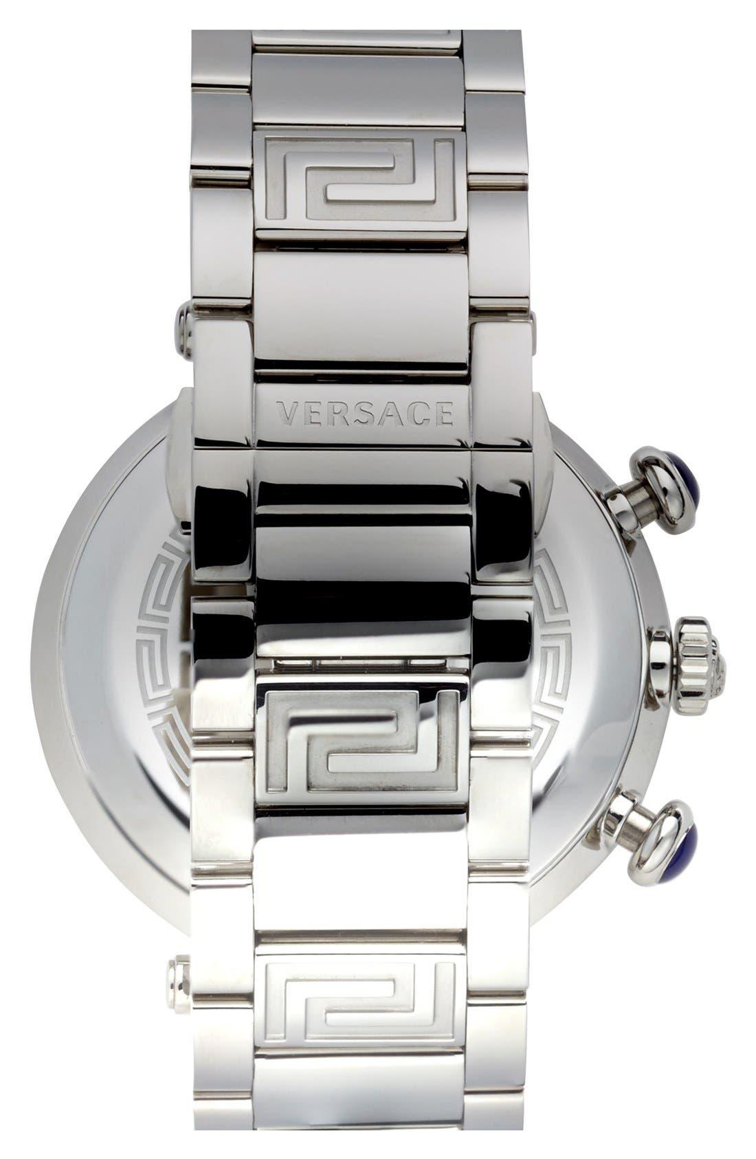 Alternate Image 2  - Versace 'Reve Chrono' Bracelet Watch, 46mm
