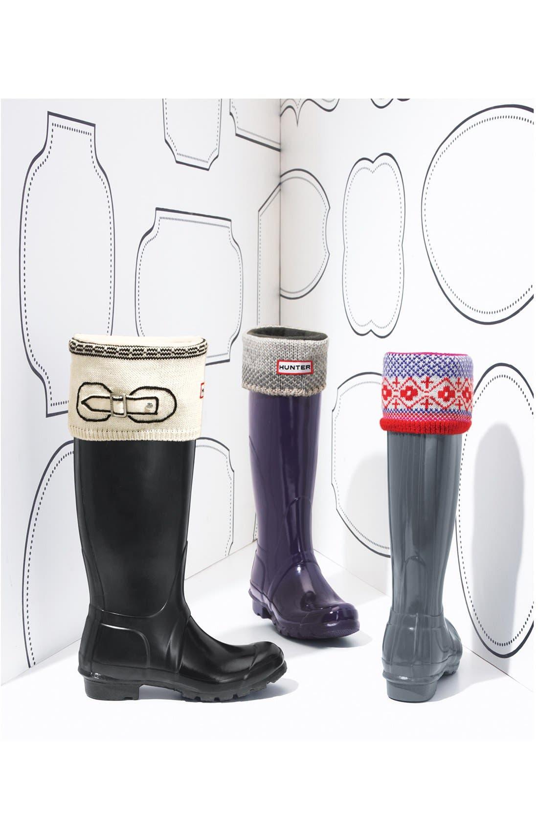 Alternate Image 3  - Hunter 'Fair Isle' Welly Socks