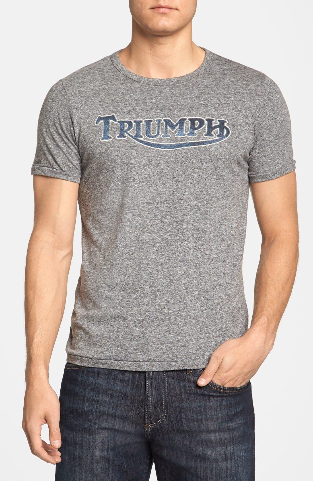 'Triumph' T-Shirt,                         Main,                         color, Black