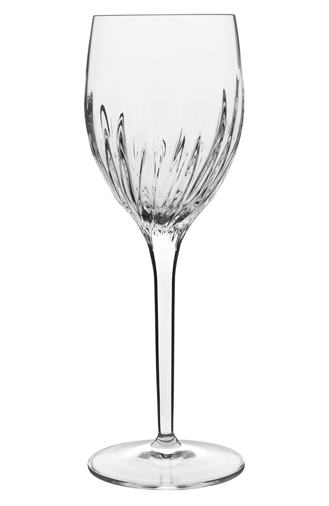 Incanto Set of 4 White Wine Glasses,                             Main thumbnail 1, color,                             Clear