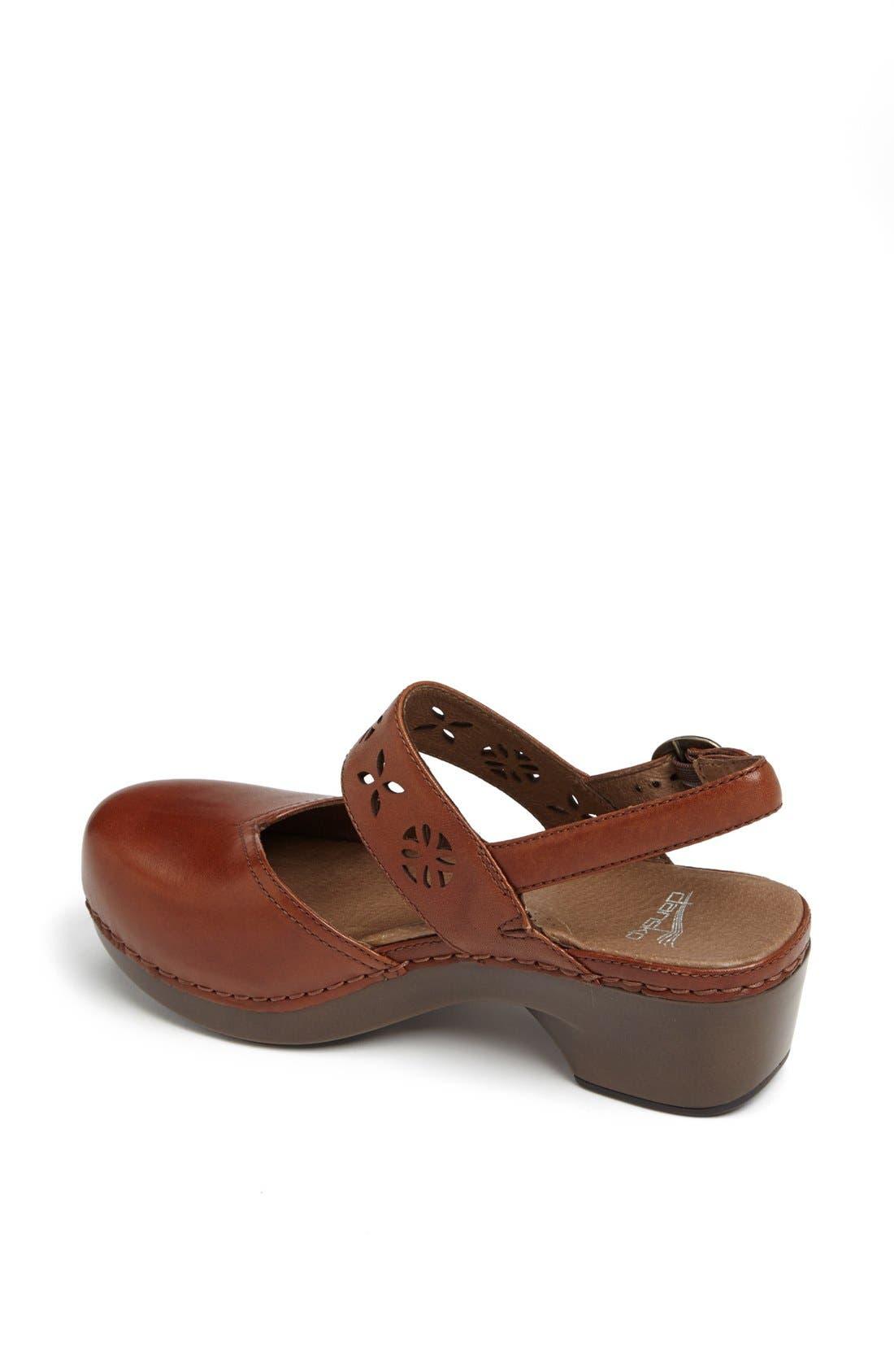 Alternate Image 2  - Dansko 'Trista' Leather Clog
