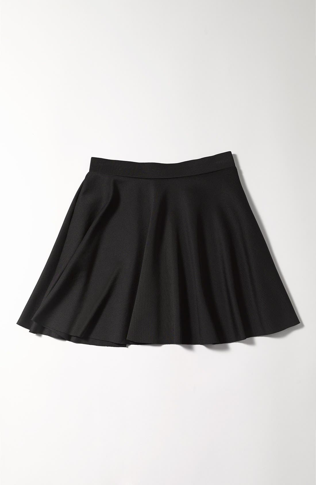 Alternate Image 2  - Frenchi Skater Skirt (Juniors)