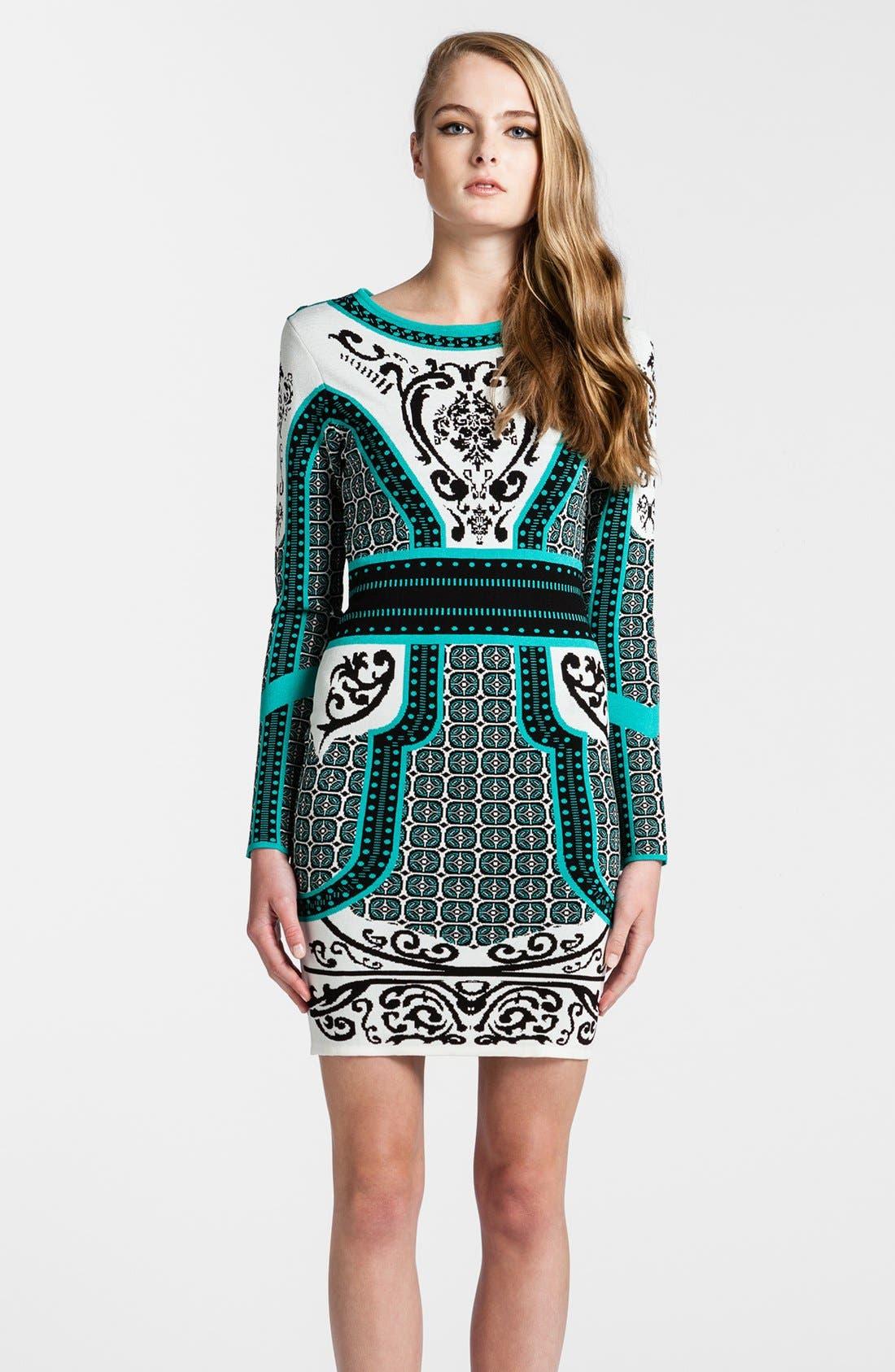 Main Image - Cynthia Steffe Intarsia Sweater Dress
