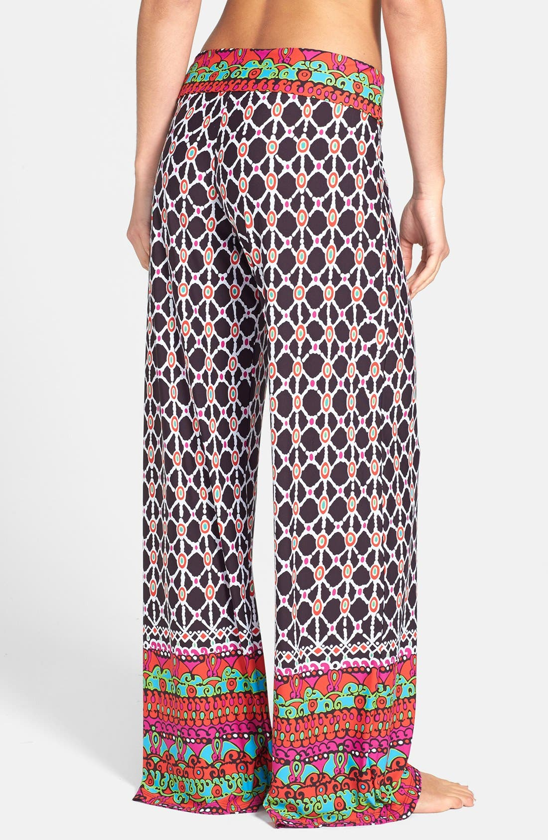 Alternate Image 2  - Trina Turk Foldover Cover-Up Pants