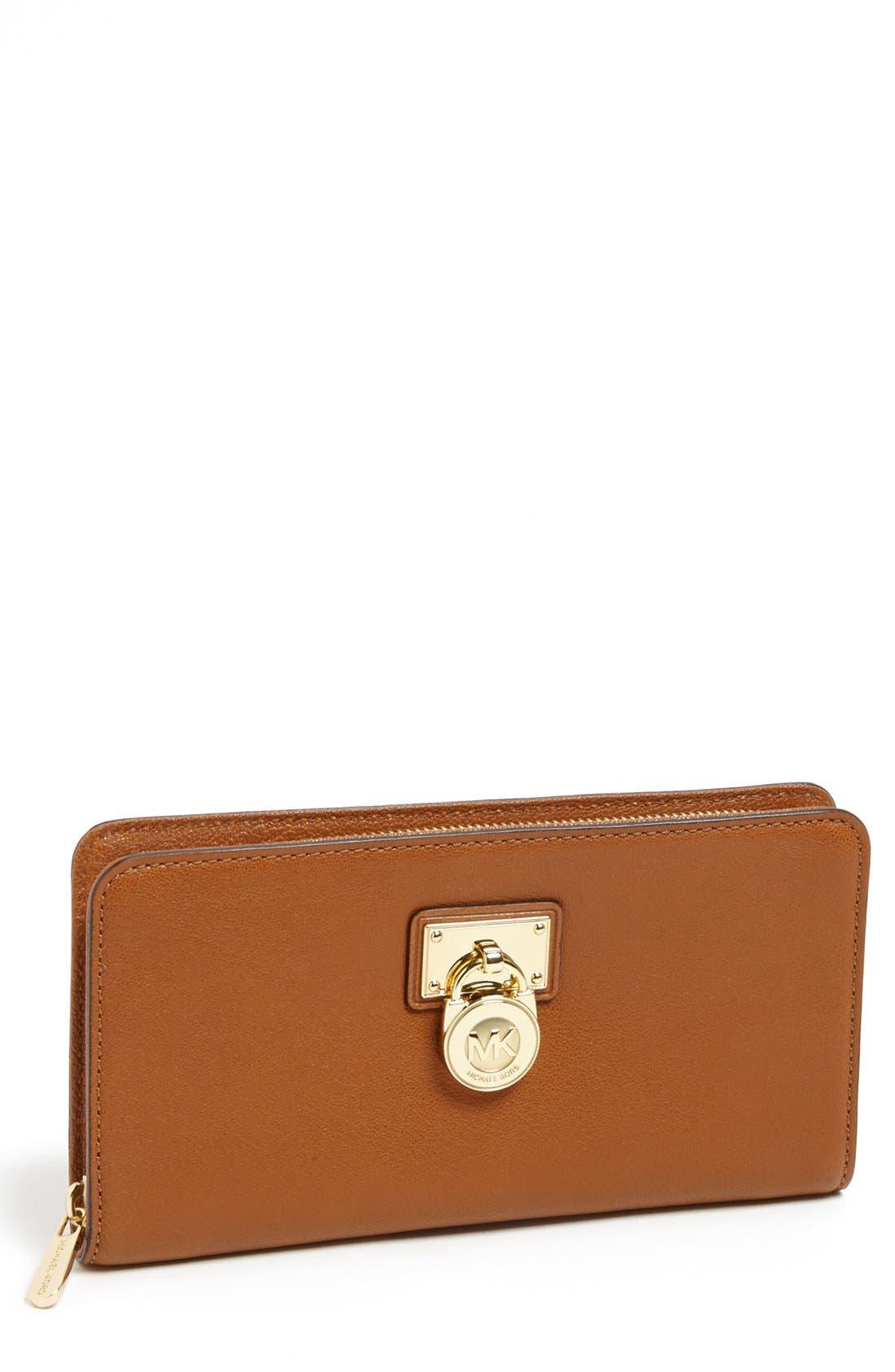 Main Image - MICHAEL Michael Kors 'Hamilton - Large' Wallet