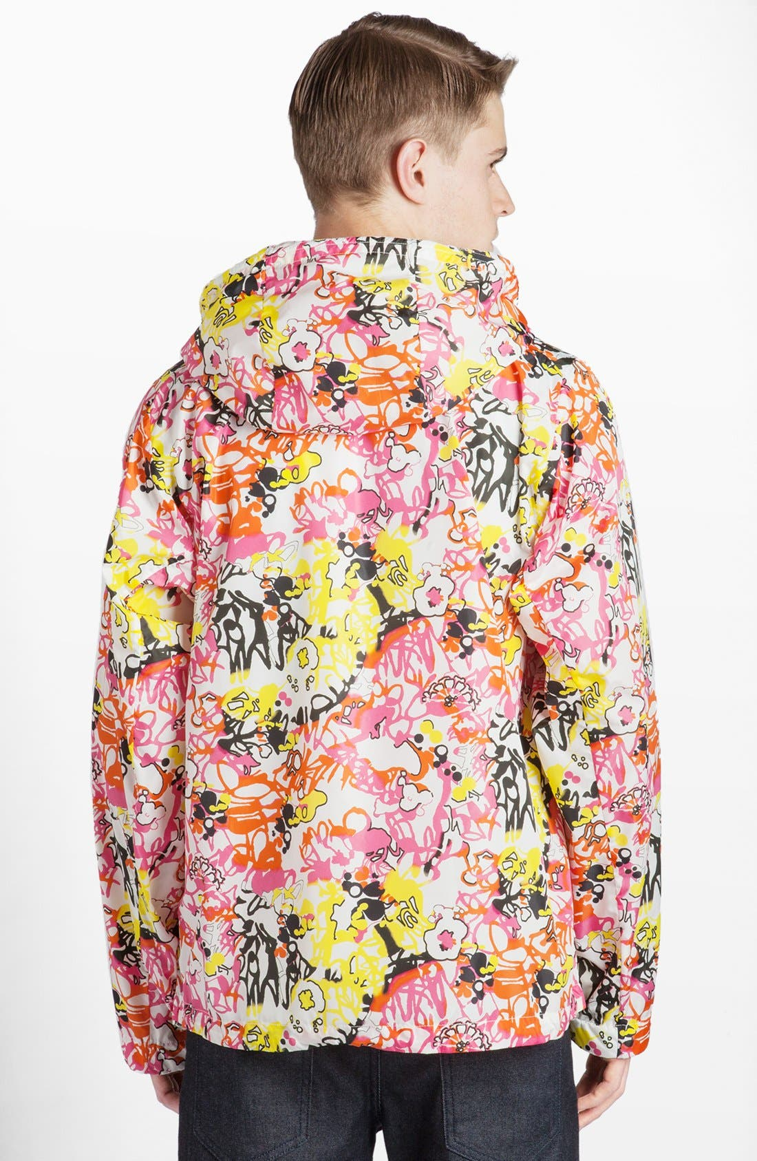 Alternate Image 2  - Jil Sander Abstract Print Hooded Jacket