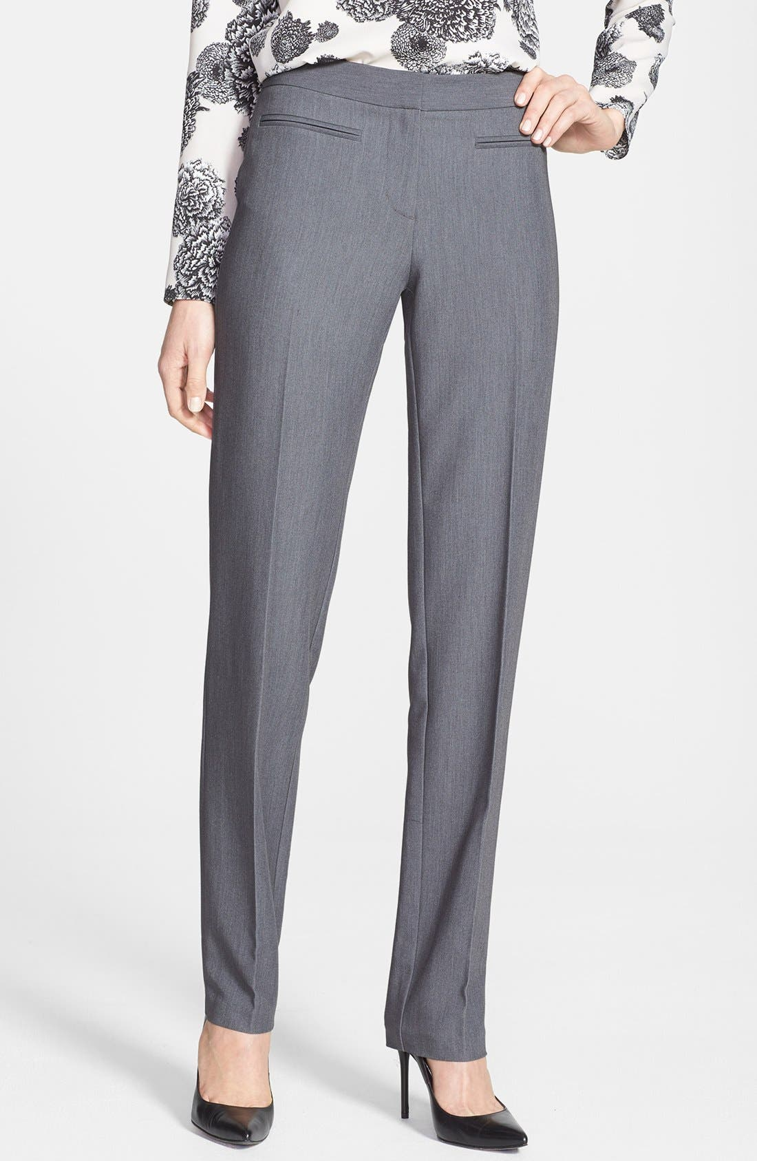 Alternate Image 1 Selected - DKNYC Straight Leg Suiting Pants