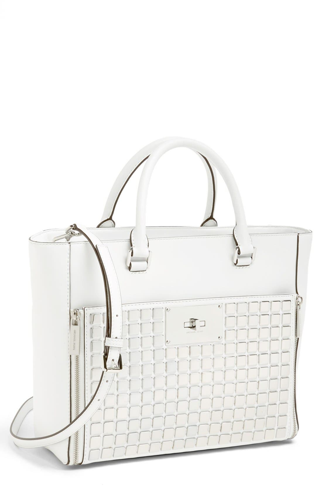 Alternate Image 1 Selected - MICHAEL Michael Kors 'Natalia - Large' Leather Tote