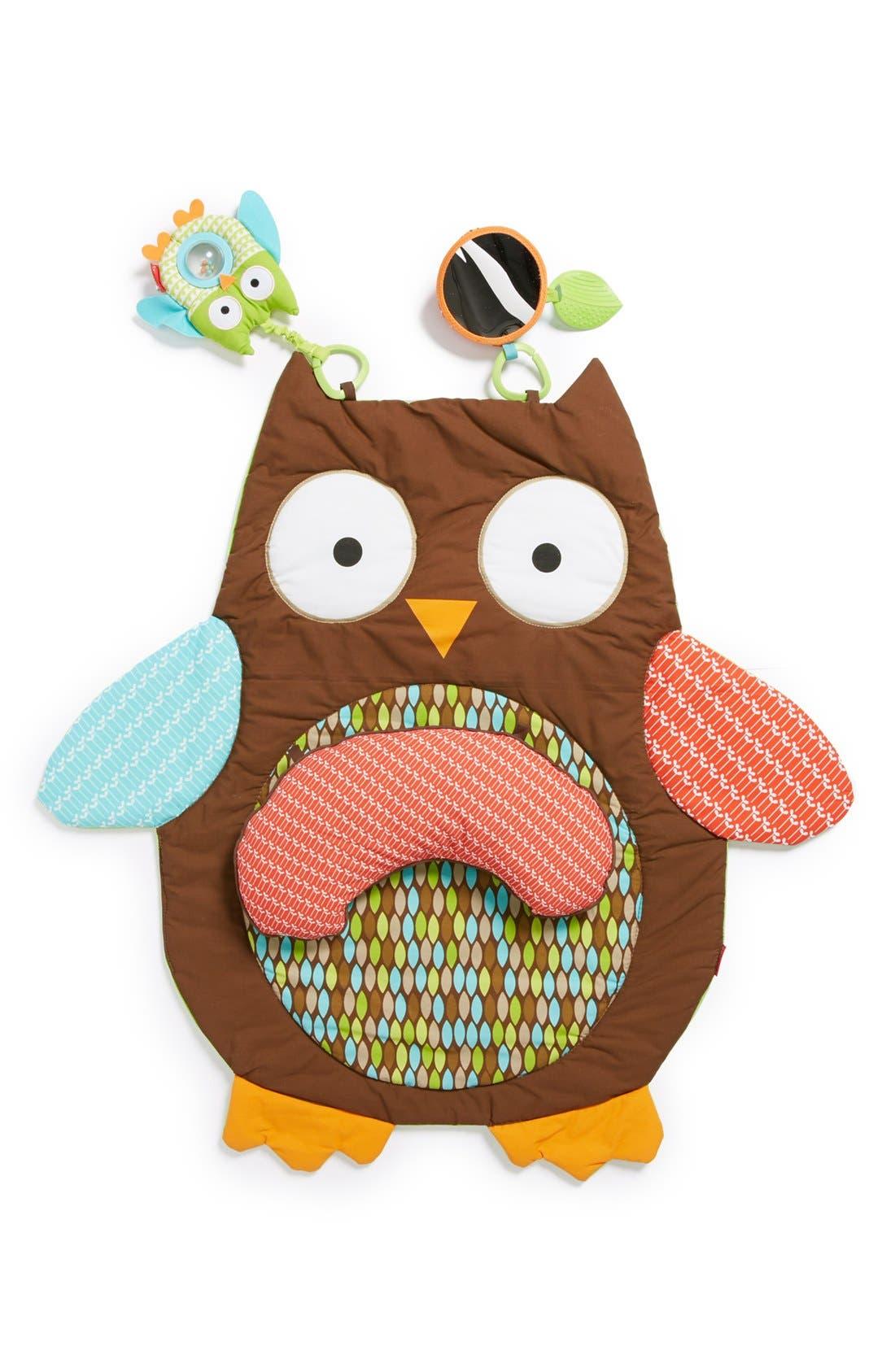 Skip Hop 'Hug & Hide' Owl Tummy Time Mat