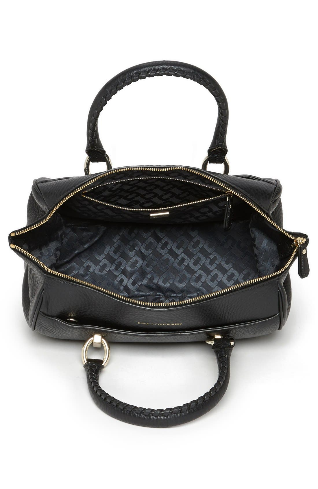 Alternate Image 2  - Diane von Furstenberg 'Small Sutra' Leather Satchel