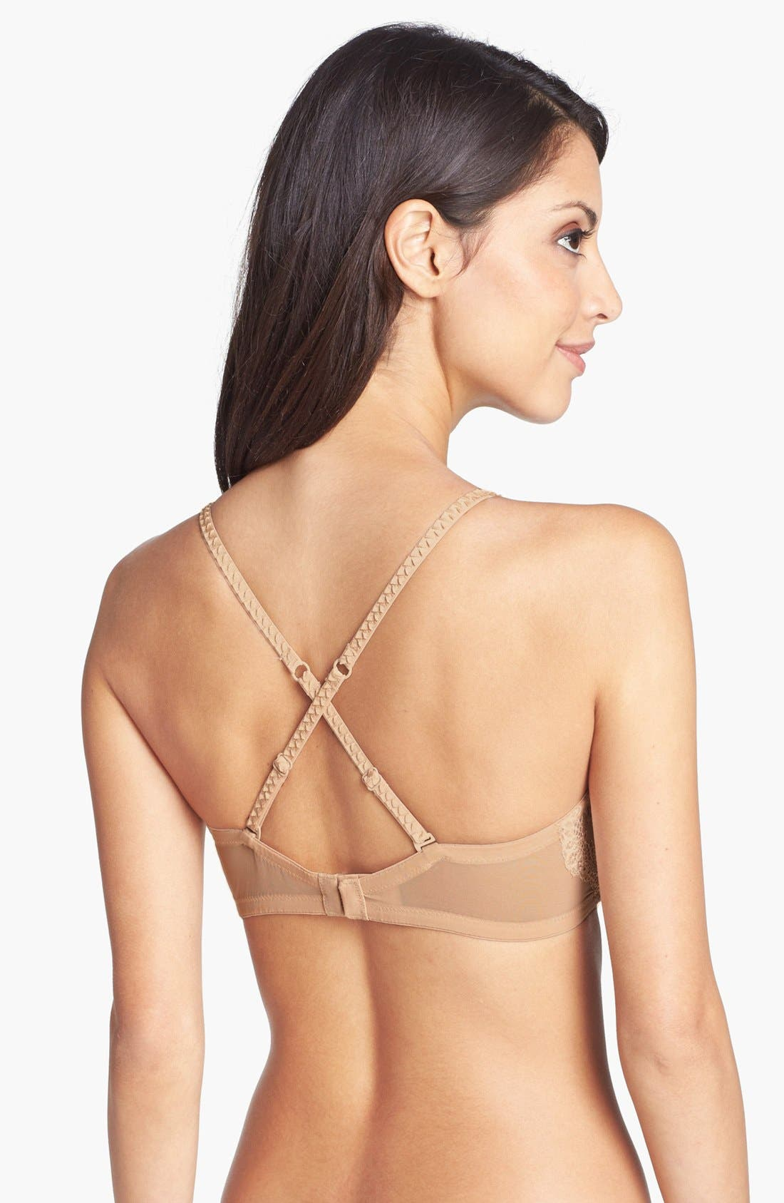 Alternate Image 4  - DKNY 'Seductive Lights' Convertible Padded Underwire Bra