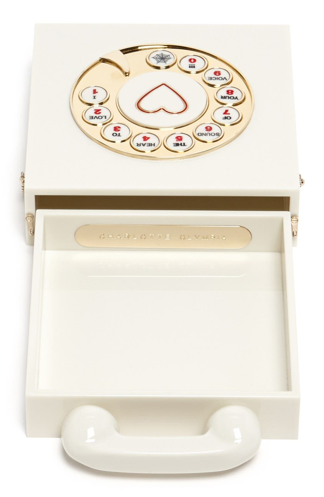 Alternate Image 3  - Charlotte Olympia 'Chatterbox' Clutch