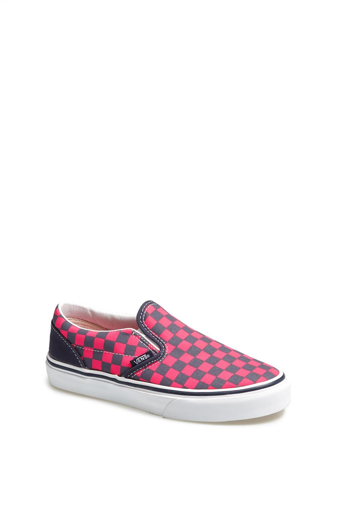 Alternate Image 1 Selected - VANS CLASSIC SLIP ON CHECKERBOARD SNEAKER