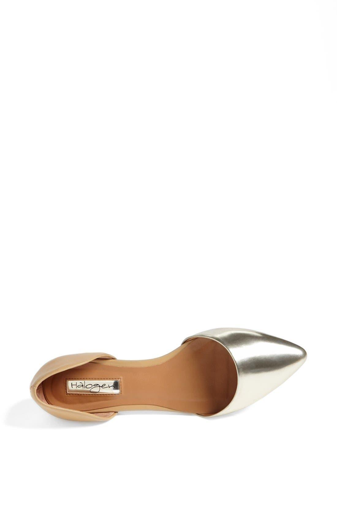 Alternate Image 3  - Halogen® 'Kayla' Pointy Toe Flat