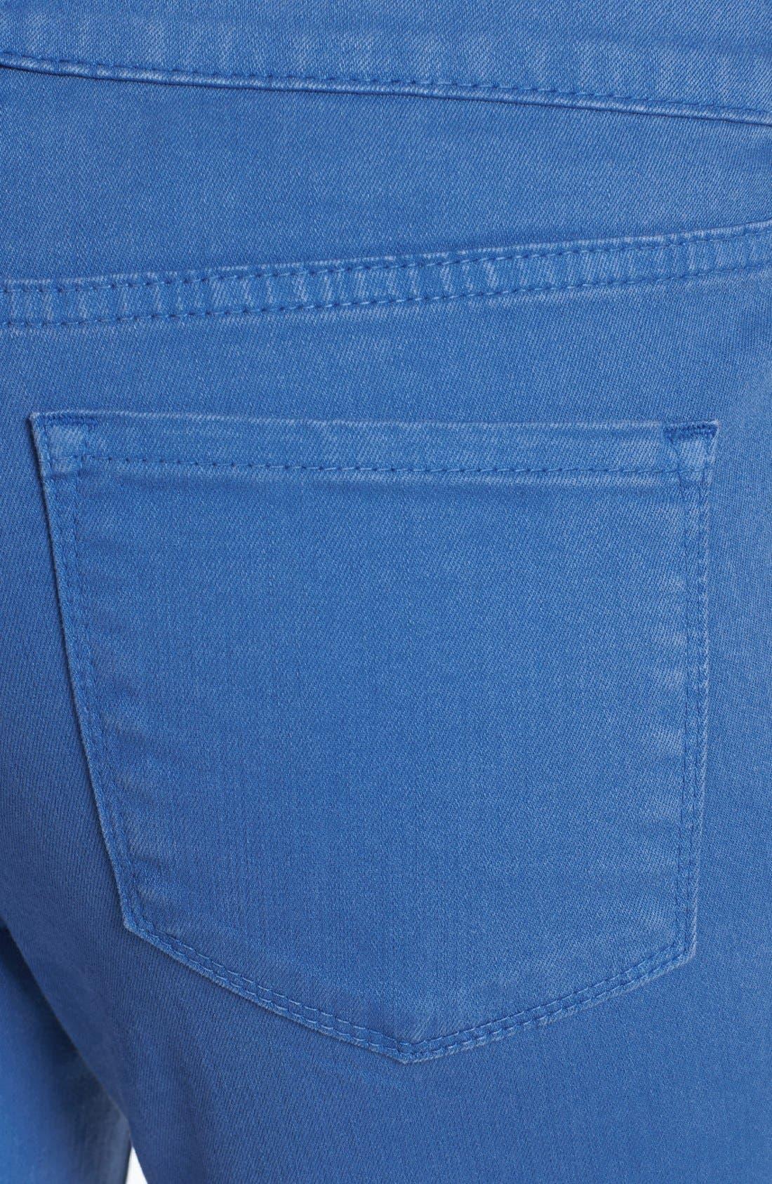 Alternate Image 3  - NYDJ 'Lyris' Colored Roll-Tab Stretch Crop Jeans