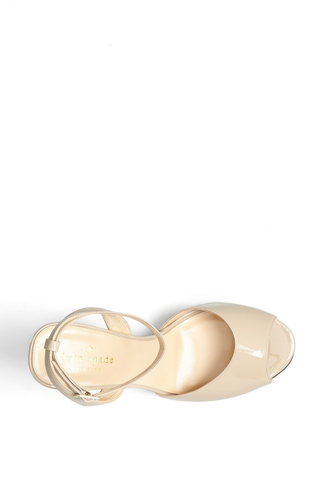 Alternate Image 3  - kate spade new york 'ice' leather sandal