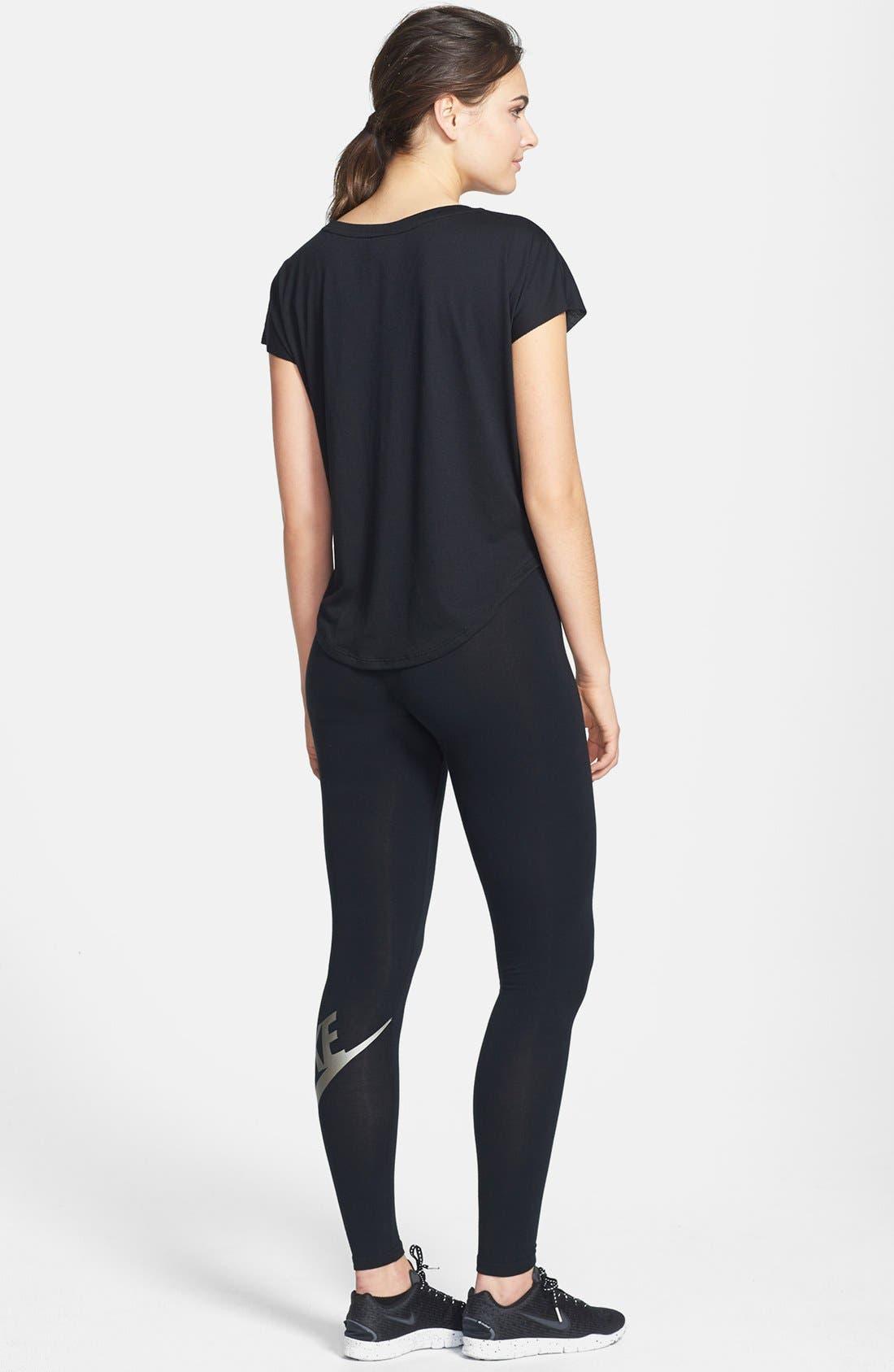 Alternate Image 4  - Nike 'Signal' Logo Scoop Neck Tee