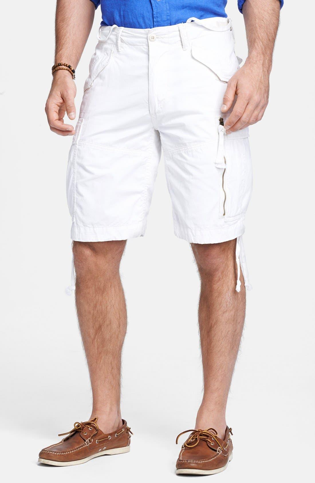 Main Image - Polo Ralph Lauren 'Carrier M45' Classic Fit Cargo Shorts