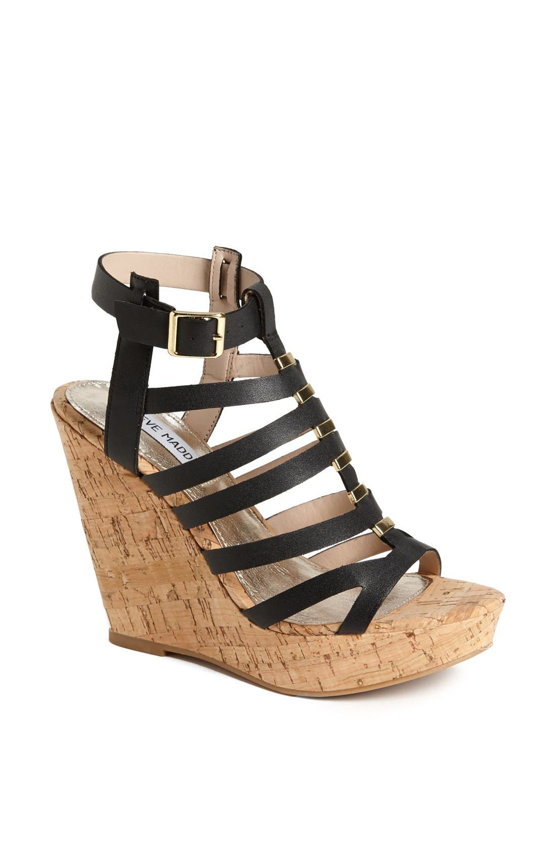 Alternate Image 1 Selected - Steve Madden 'Indyanna' Wedge Sandal