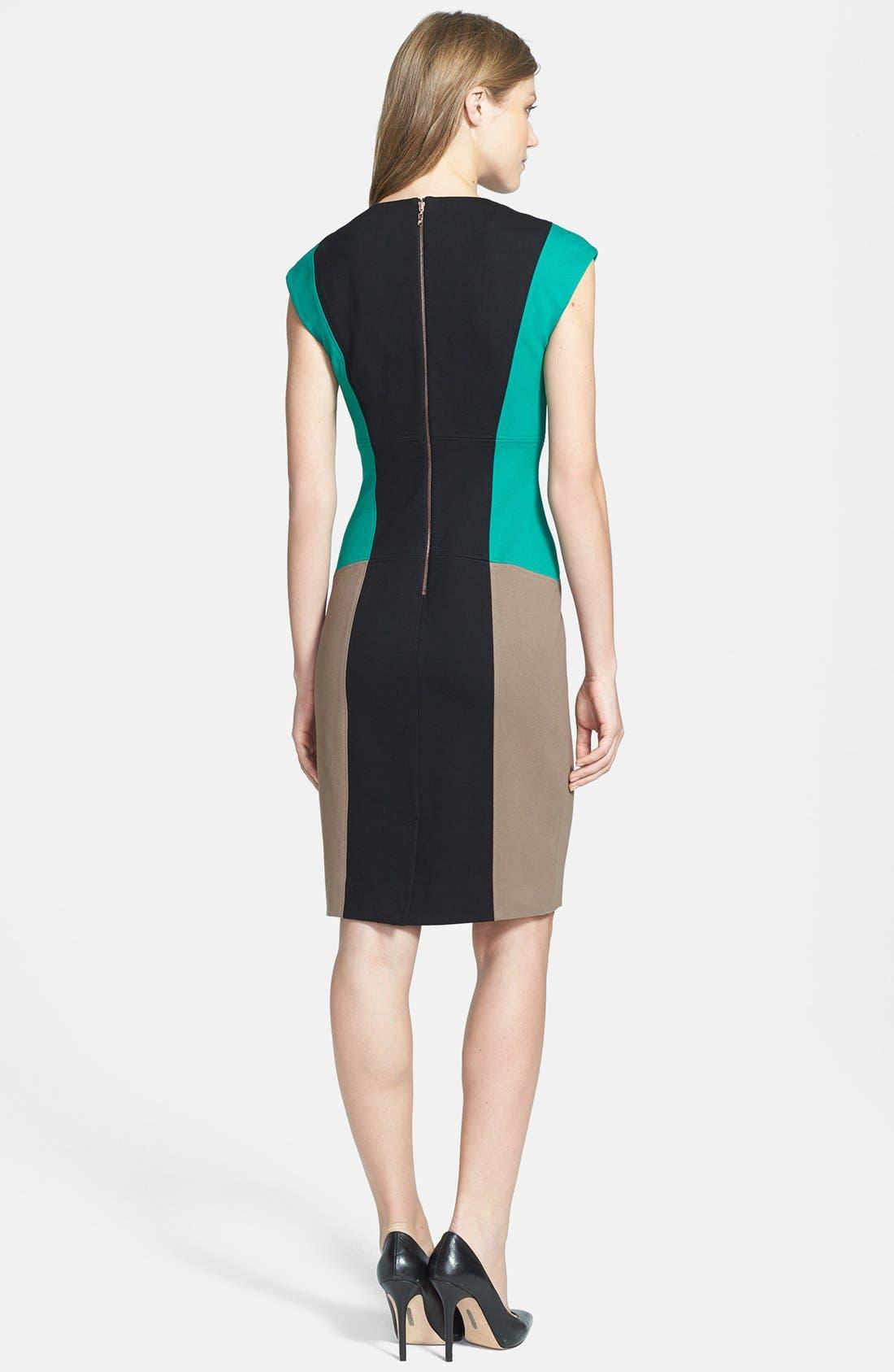 Alternate Image 2  - Rachel Roy Colorblock Sheath Dress