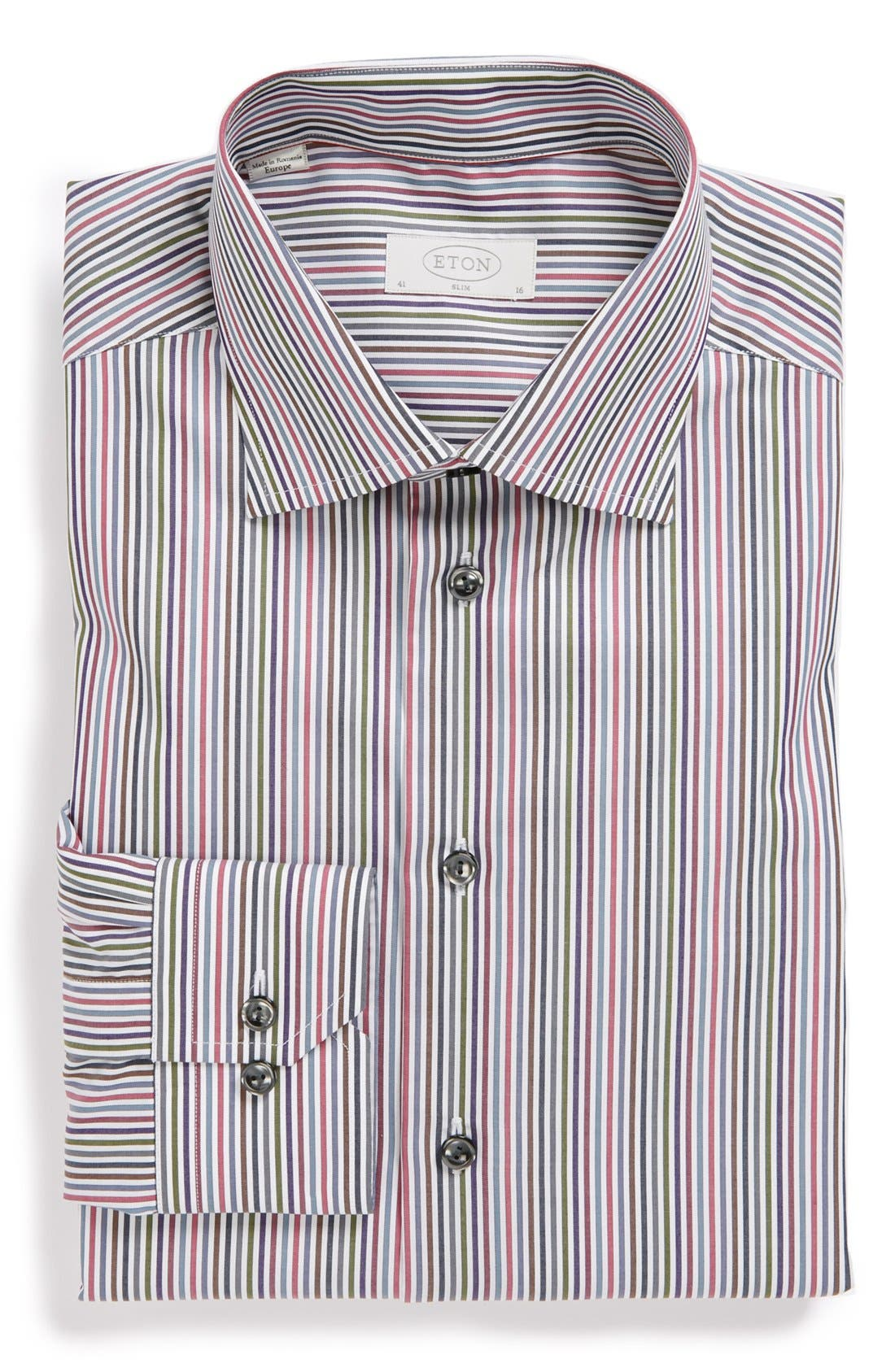 Alternate Image 1 Selected - Eton Slim Fit Dress Shirt