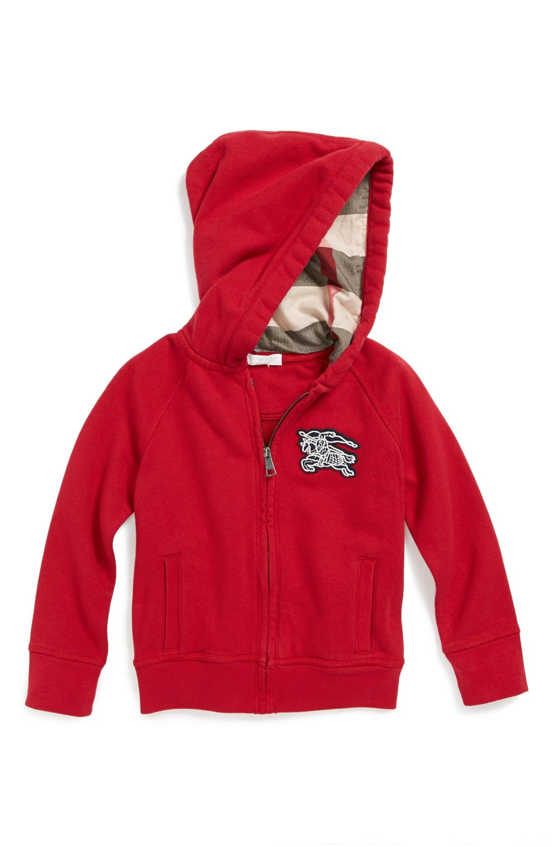 Main Image - Burberry 'Torrey' Hoodie (Little Boys & Big Boys)