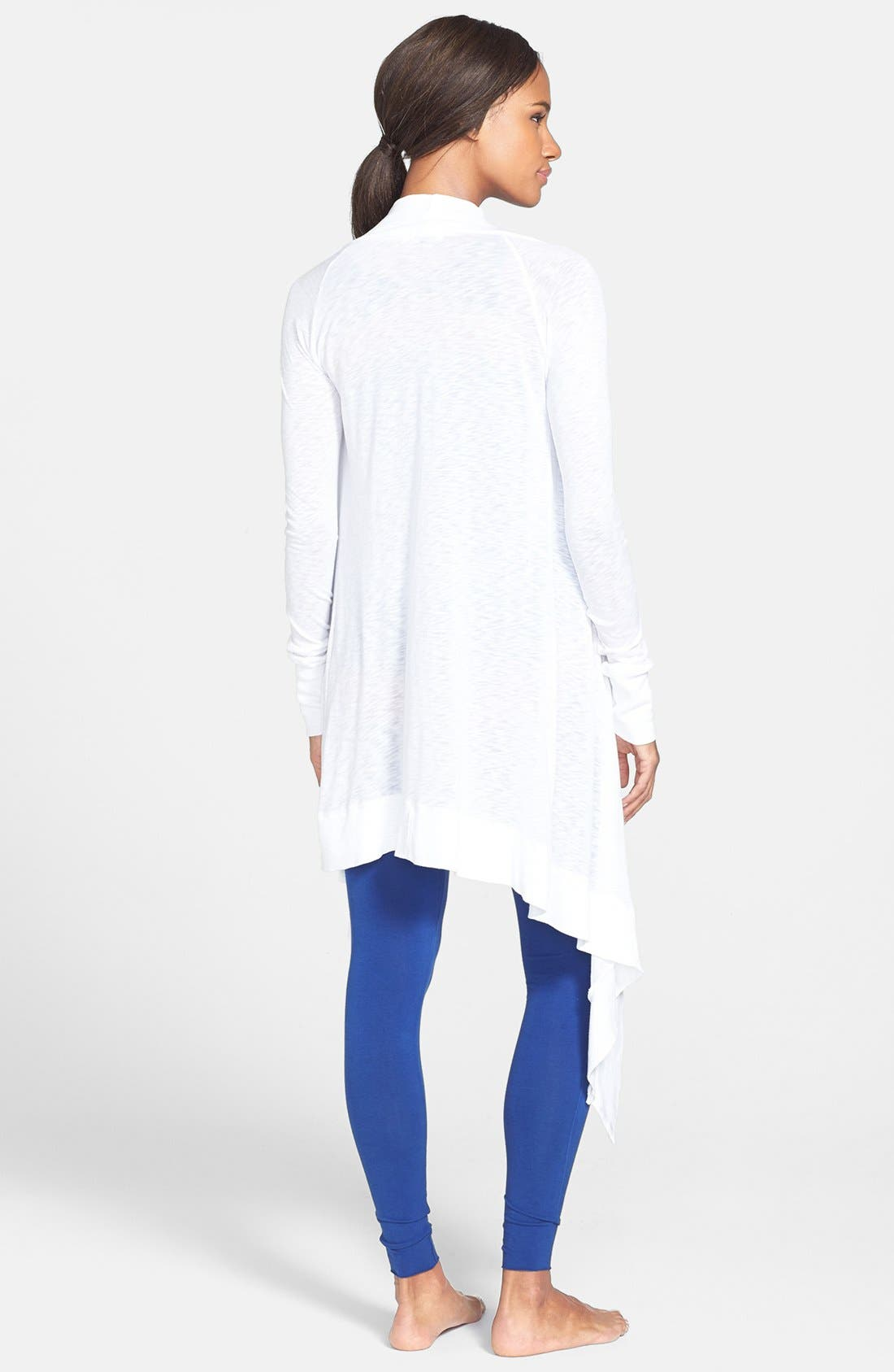 Alternate Image 2  - Omgirl 'Divine' Pima Cotton Cardigan