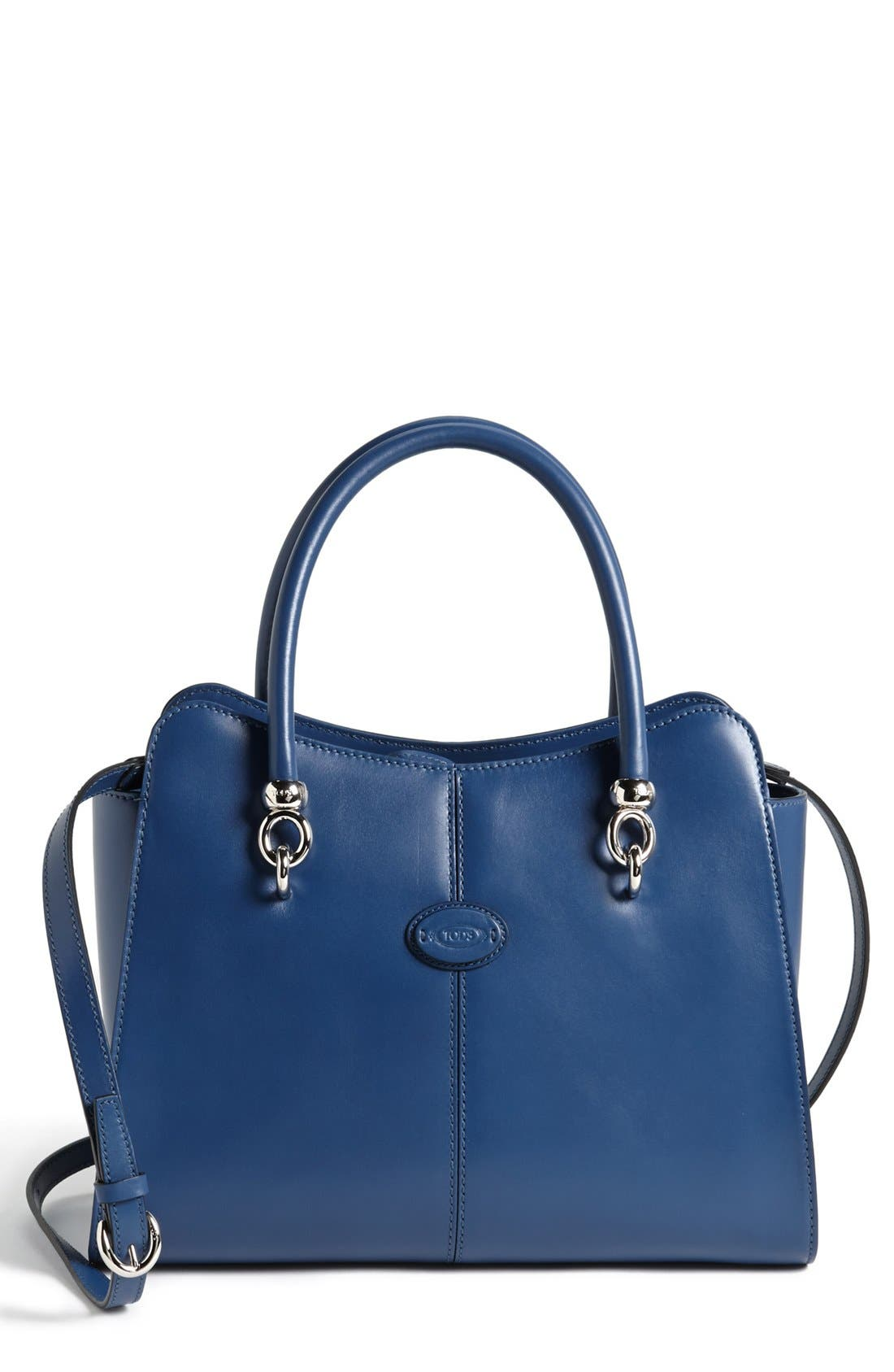Alternate Image 1 Selected - Tod's 'Sella' Leather Shopper
