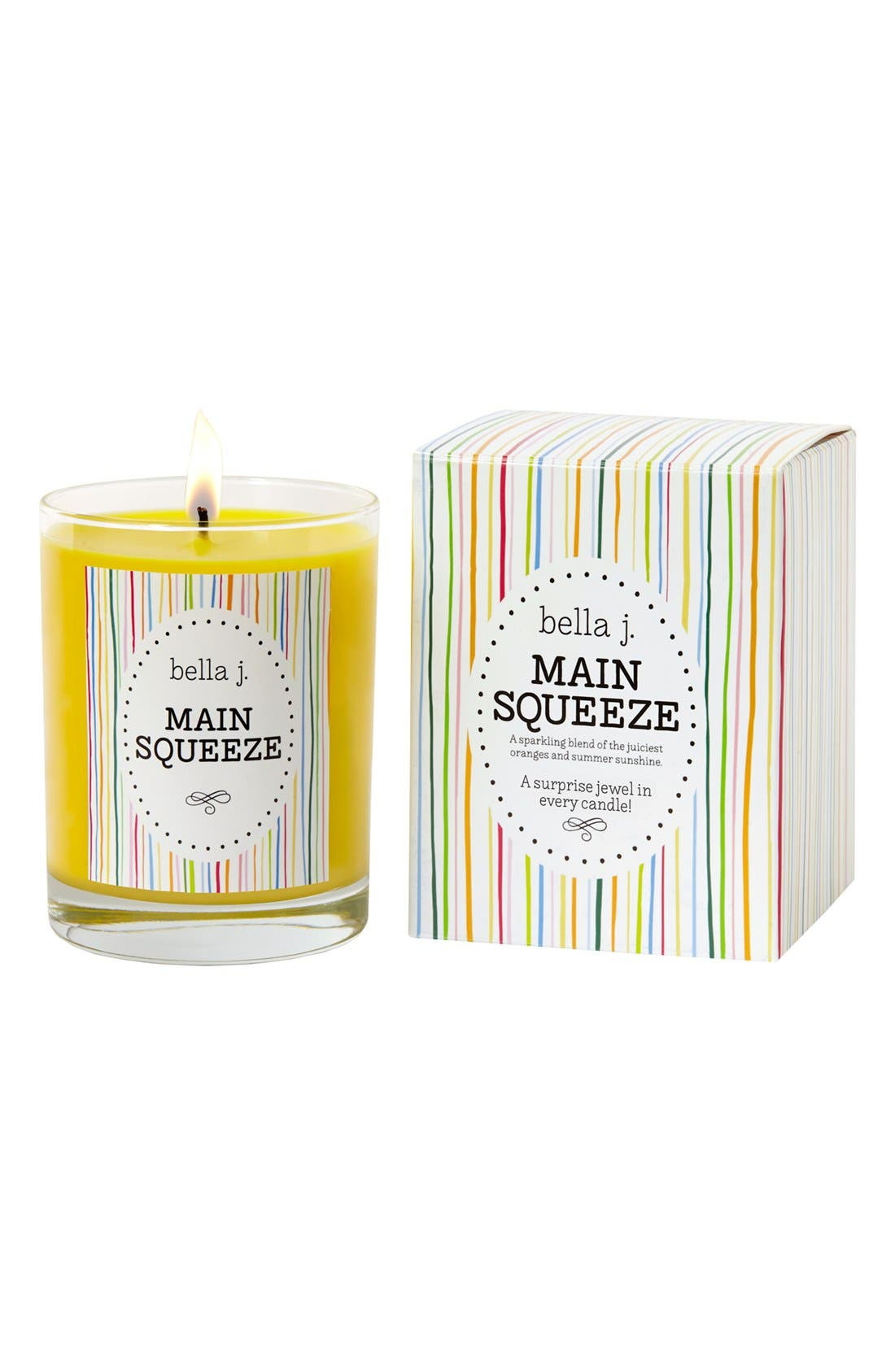 Alternate Image 1 Selected - bella j. 'Main Squeeze' Candle