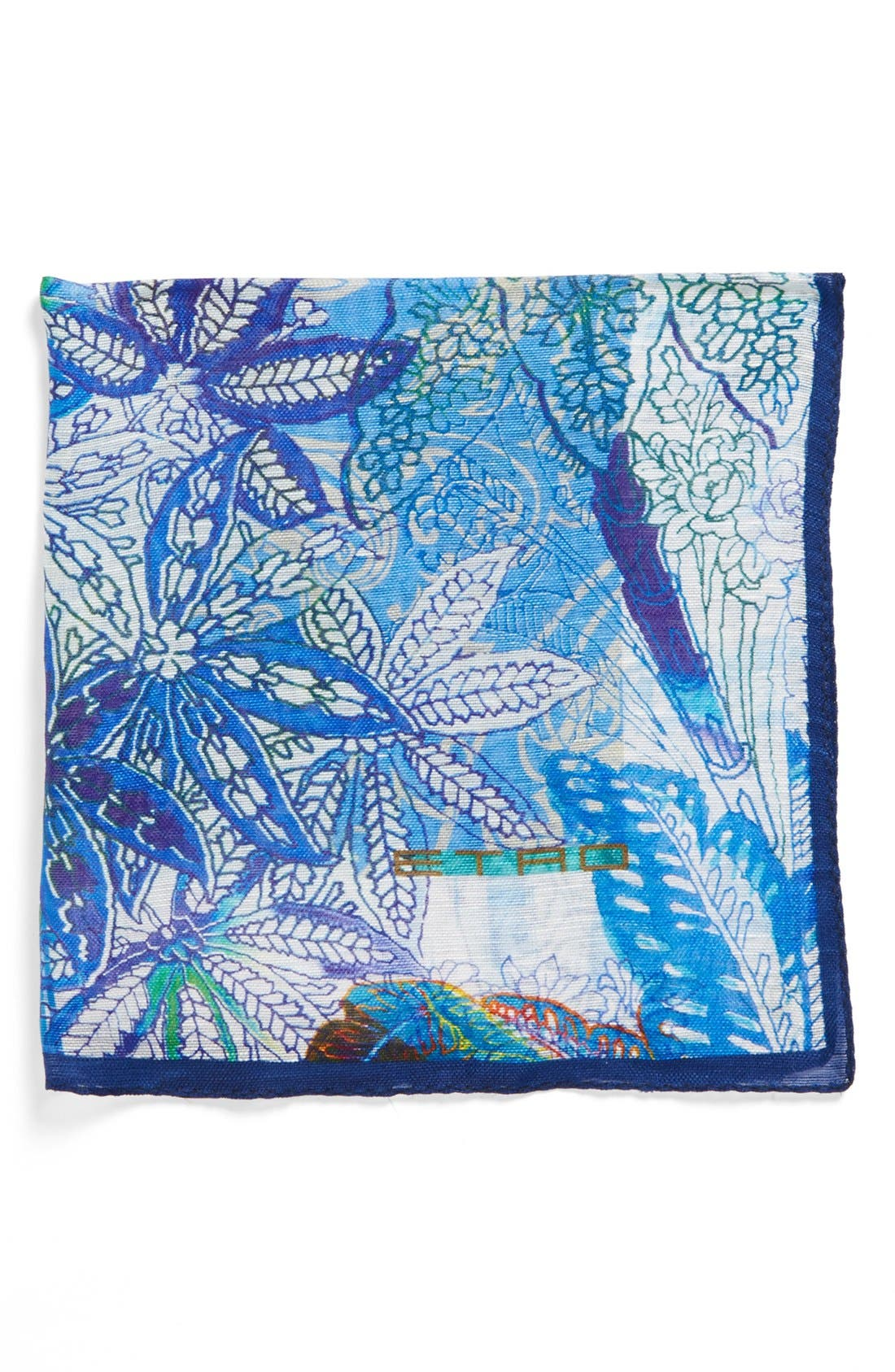 Main Image - Etro Silk Pocket Square