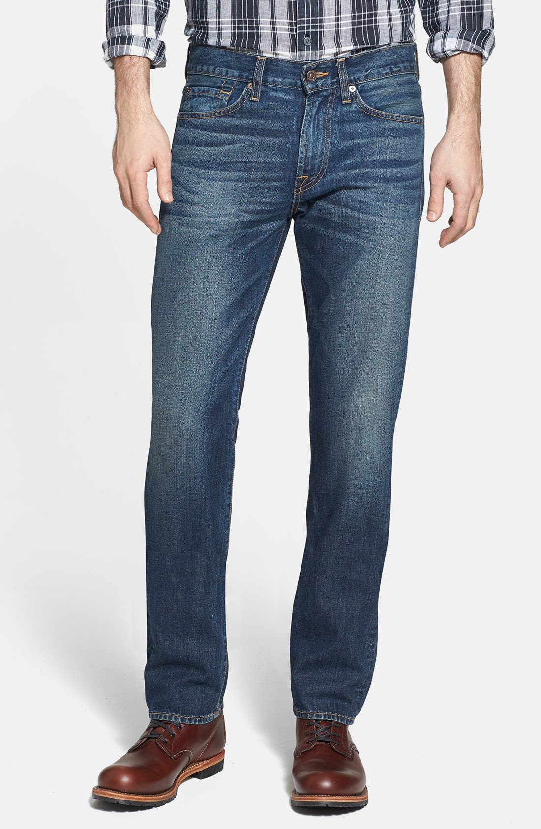Alternate Image 1 Selected - 7 For All Mankind® 'Slimmy' Slim Fit Jeans (Shibuya Road)