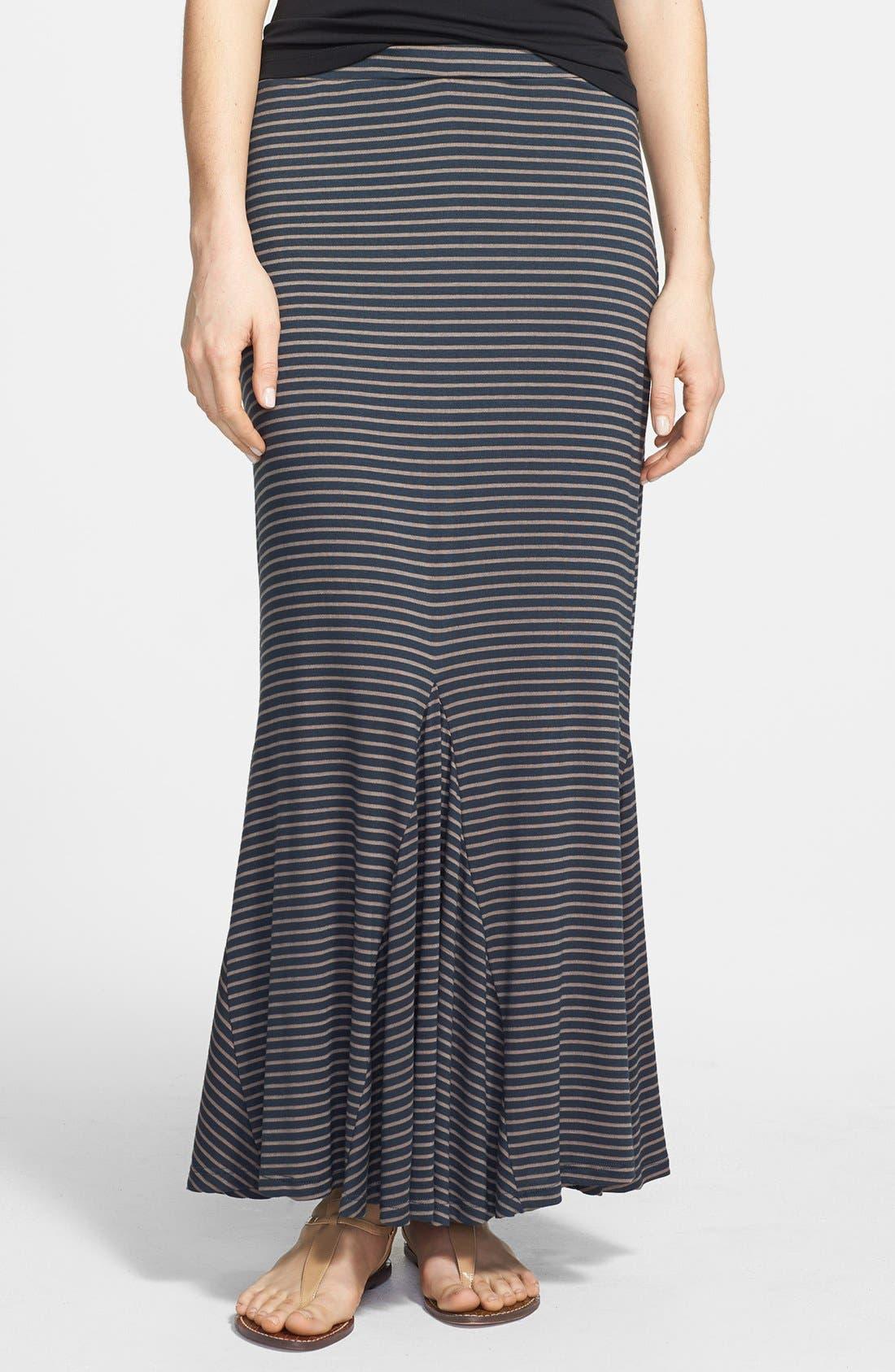Main Image - Pleione Trumpet Hem Maxi Skirt (Regular & Petite)