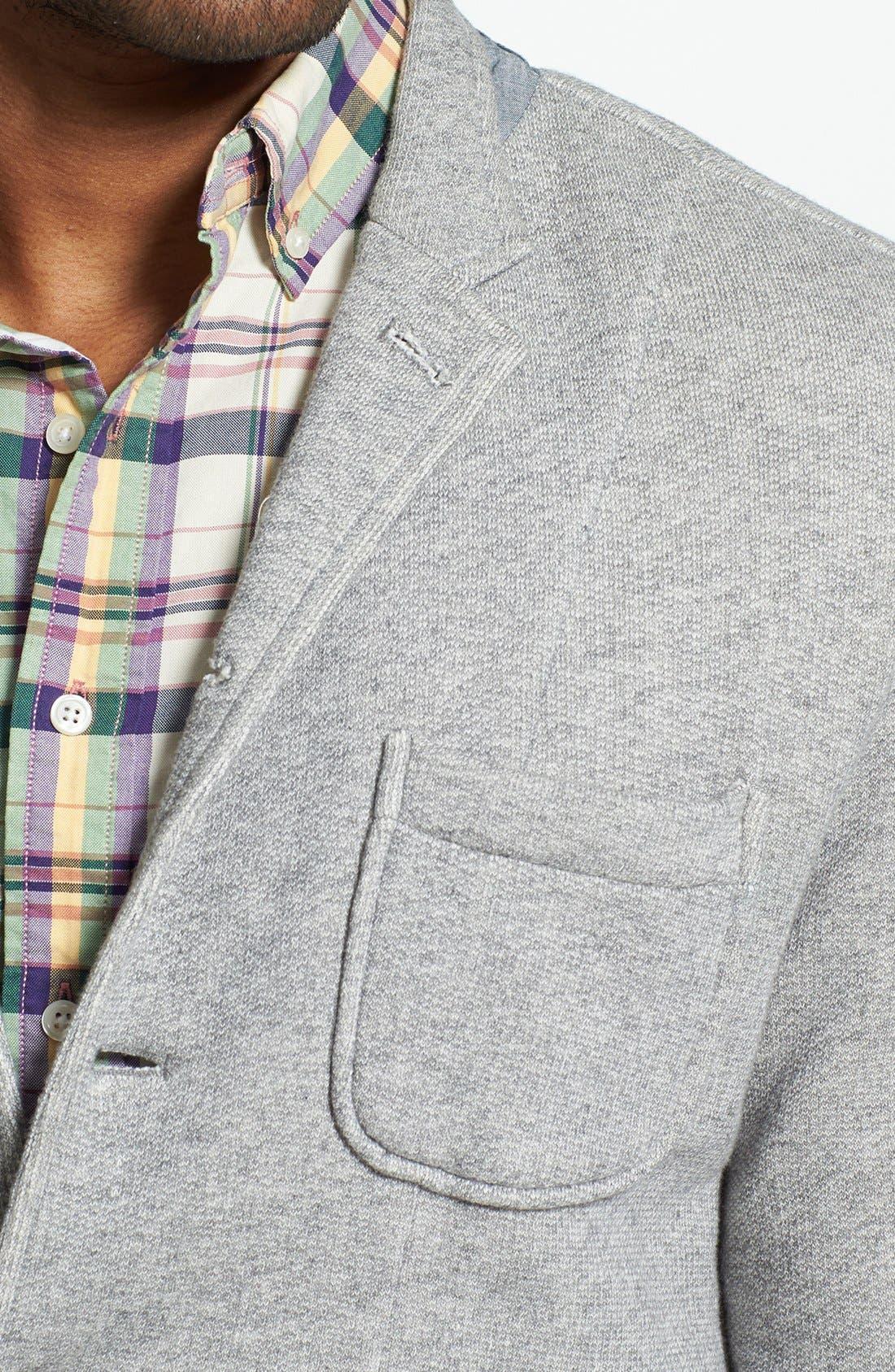 Alternate Image 3  - Grayers Trim Fit Knit Sport Coat