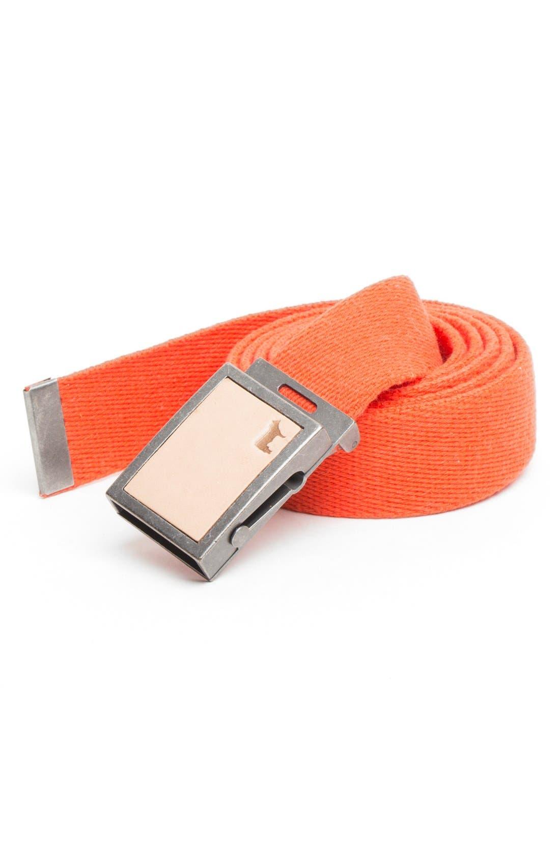 Alternate Image 1 Selected - Will Leather Goods 'Gunner' Belt