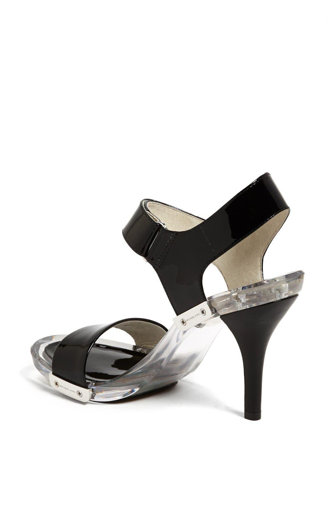 Alternate Image 2  - MICHAEL Michael Kors 'Lani' Patent Leather Sandal